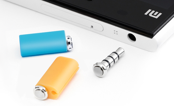 Pressy Button works with your Headphone Jack