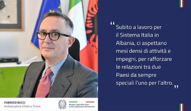 L'Italia nomina un nuovo ambasciatore in Albania, Fabrizio Bucci: ci aspettano mesi con molti impegni
