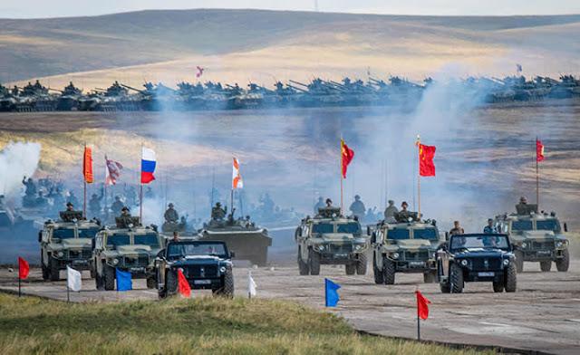 Menyusul Ketegangan dengan AS, China-Rusia bakal Gelar Latihan Perang Bersama