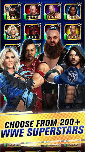 Download WWE Champions Free Puzzle RPG 2020 Mod Apk