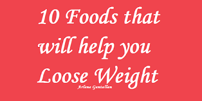 10 Foods that will help you Loose Weight