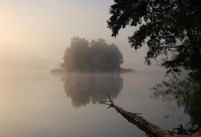 Olsztyn | Poranne mgły nad jeziorem