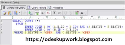 Upwork ANSI SQL TEST 2016