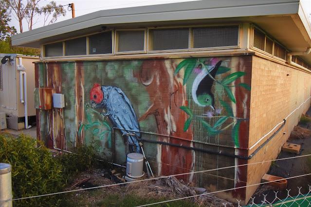 Canberra Street art | Aranda mural by Stylized Impact