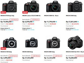 Inilah 5 Tipe Kamera Nikon Yang Recomended