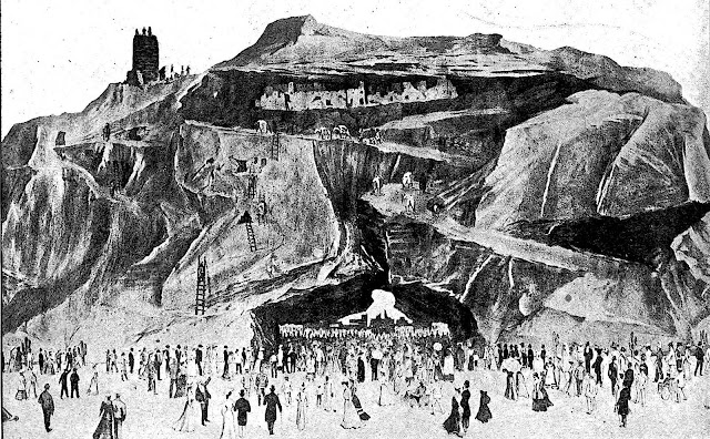 1904 World's Fair cliff dwellers illustration