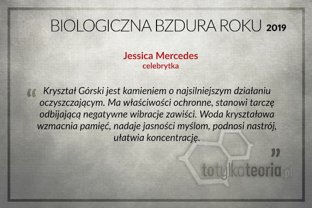 Jessica Mercedes Biologiczna Bzdura Roku