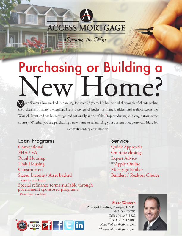 Michelle 39 s portfolio lemonadestandgraphix access for Free mortgage flyer templates