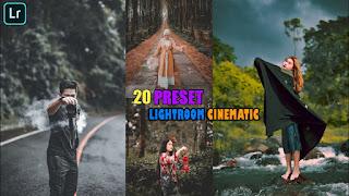 20+ Preset Lightroom Cinematic Photography New Update XMP