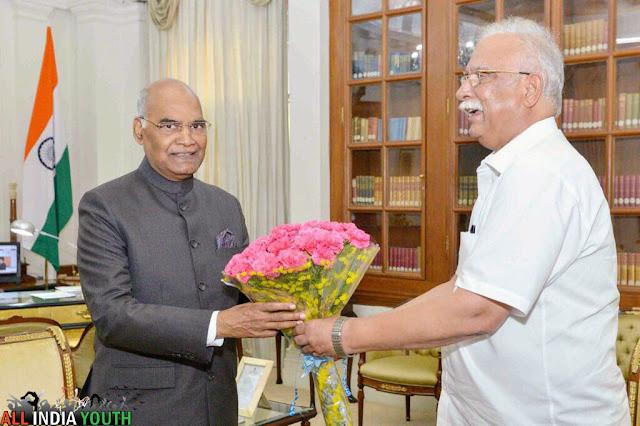 Pusapati Ashok Gajapathi Raju with Ramnath Kovind
