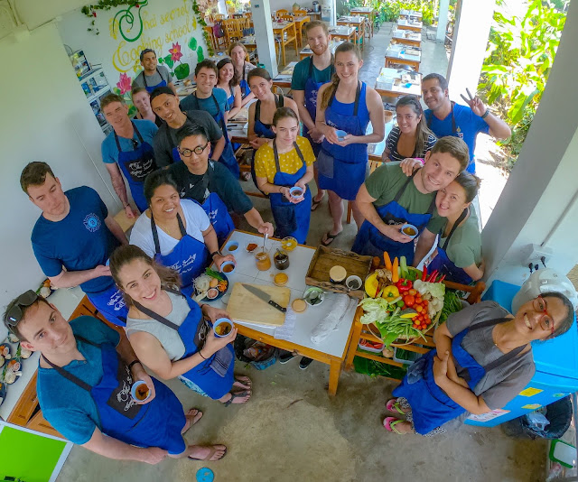 Thai Secret Cooking Class & Organic Garden. April 2-2019