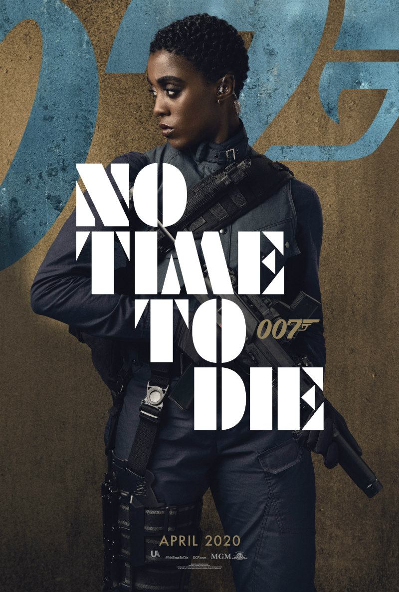 no time to die poster lashana lynch