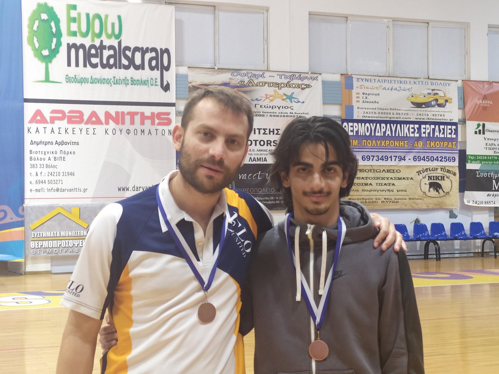 Χάλκινο μετάλλιο στο Badminton για αθλητή από την Ξάνθη