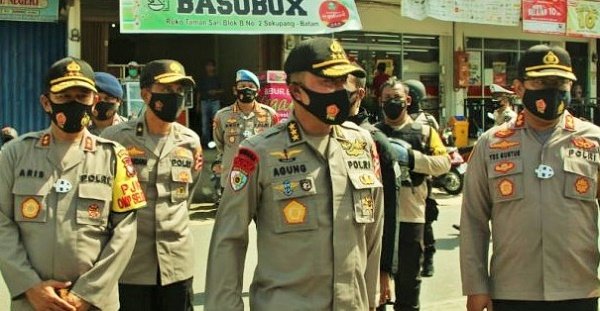 Irwasum Mabes Polri Pantau Jalannya Pilkada Serentak di Batam