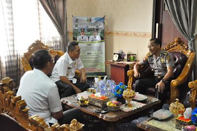 Zaiful Bokhari Terima Kunjungan Kasubdit Lemneg Ditpamobvit Polda Lampung