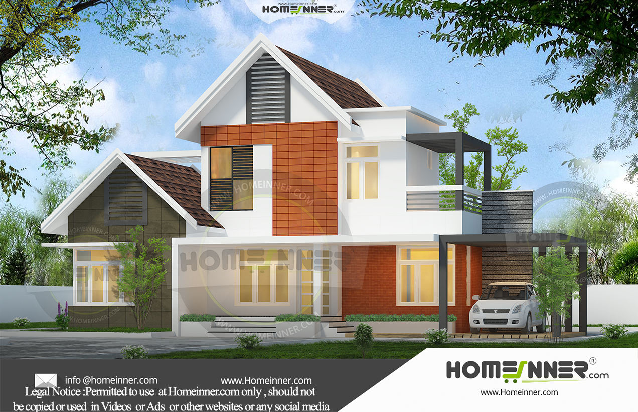 HIND-10171 Architectural house plan villa floor plan package