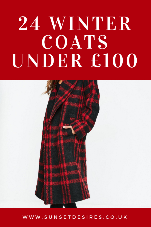 Blogmas 2018 Day 2: 24 Winter Coats Under £100
