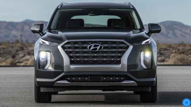 التصميم الخارجي لسيارة هيونداي باليسايد 2021