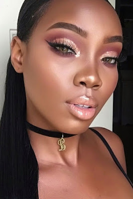 Dark Skin Makeup looks trendy