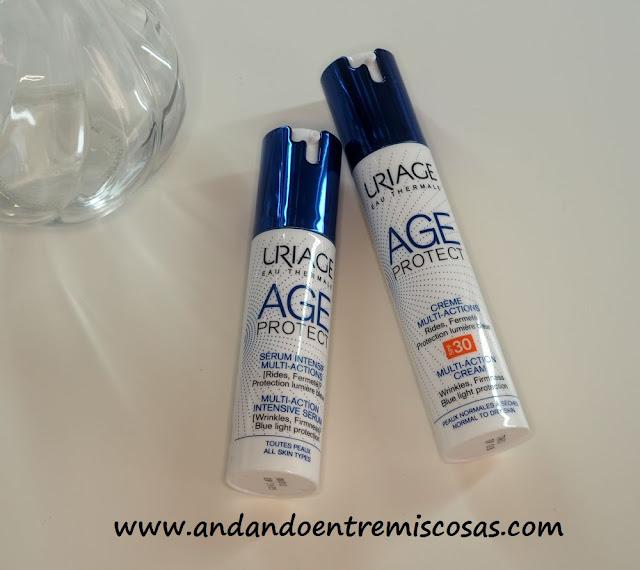 Línea Age Protect Anti Edad De Uriage