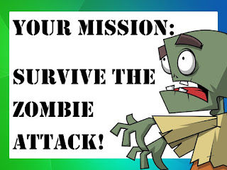 Zombie Attack Lesson Idea