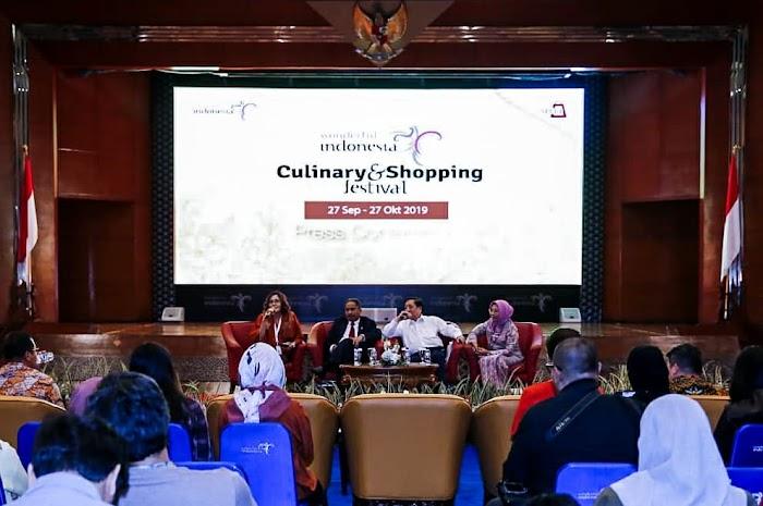Arief Yahaya Ajak Pengusaha Majukan Wisata Kuliner dan Wisata Belanja di Indonesia
