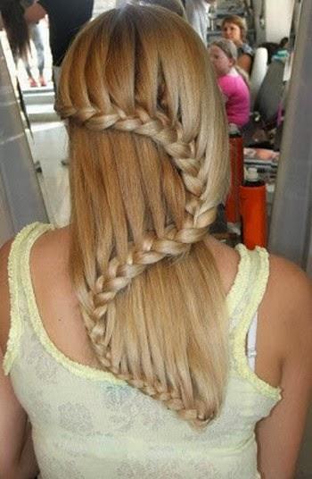 Gambar model rambut kepang 2