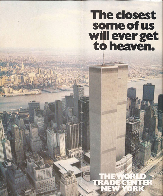 old world trade center advertisement