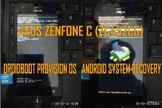 Hard Reset Asus Zenfone C (ZC451CG)