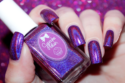 "Swatch of ""Berry Good Looking"" from Cupcake Polish"