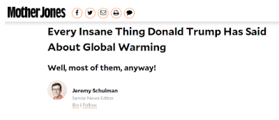 Figure 4. Every Insane Thing Donald Trump Has Said About Global Warming - Mother Jones.