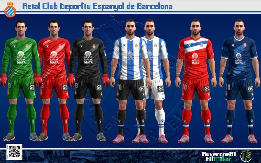 Kits Espanyol 2021-2022 For PES 2013