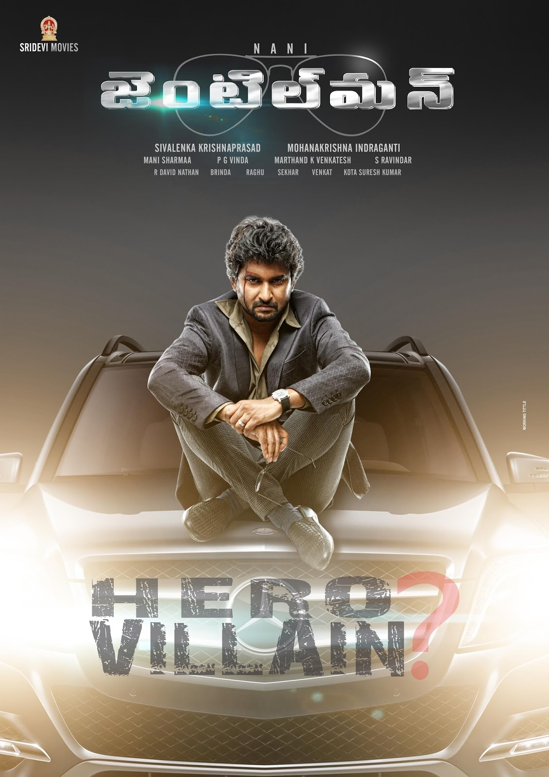Watch Gentleman (2016) DVDScr Telugu Full Movie Watch Online Free Download
