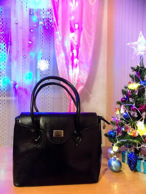 черная сумка как подарок на новый год