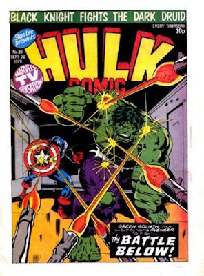 Hulk Comic #30, Captain America