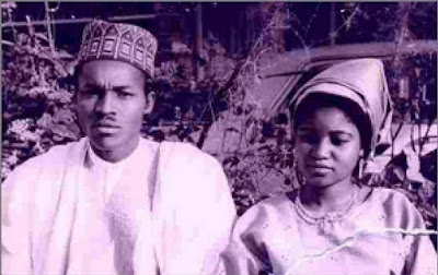 Meet The First Wife of President Buhari Before His Marriage to Aisha (PHOTOS)