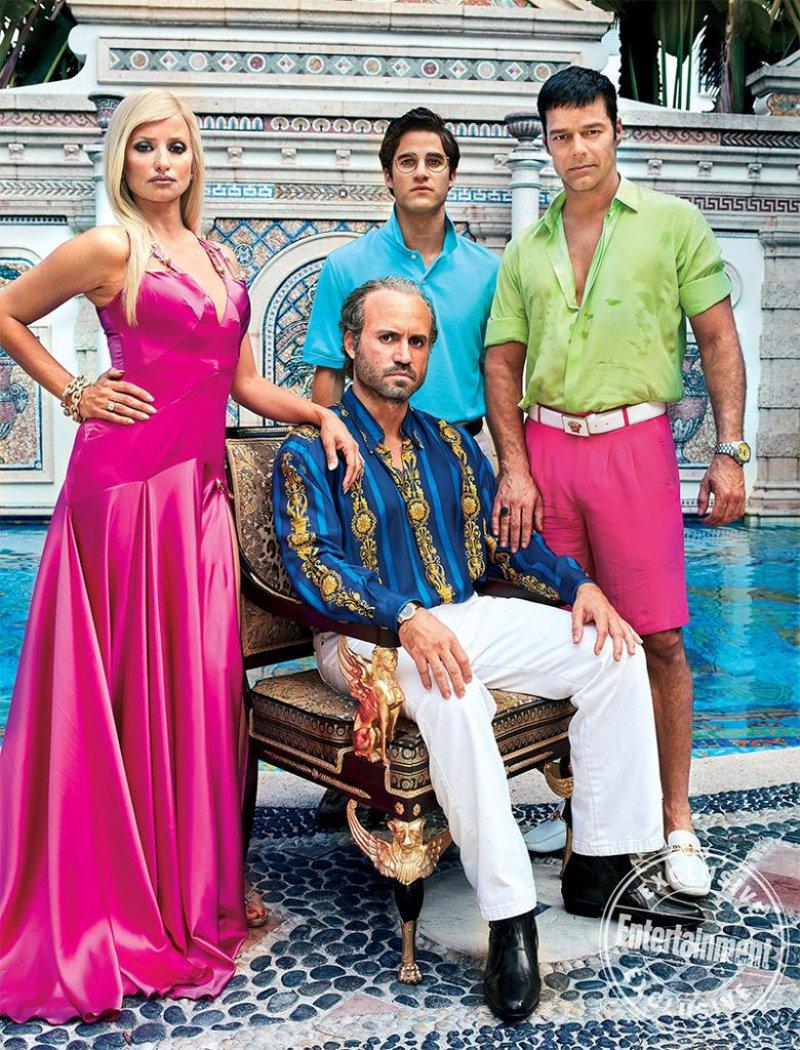 O Assassinato de Gianni Versace – elenco