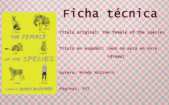 "Reseña: ""The female of the species"""