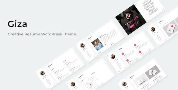 Best Creative Resume WordPress Theme