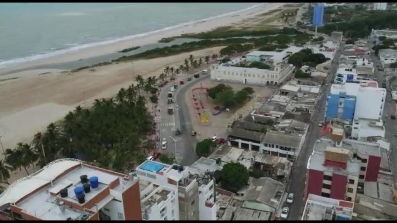 hoyennoticia.com, Con helicópteros y drones se vigila en Riohacha para garantizar seguridad ciudadana