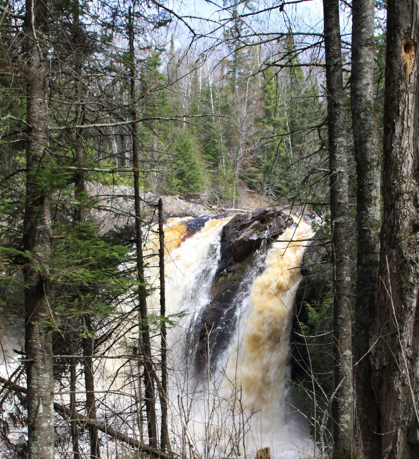 Sweet Home Wisconsin: Little Manitou Falls