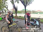 Berikan Rasa Aman Warga, Ditsamapta Polda Banten Gelar Patroli Bersepeda