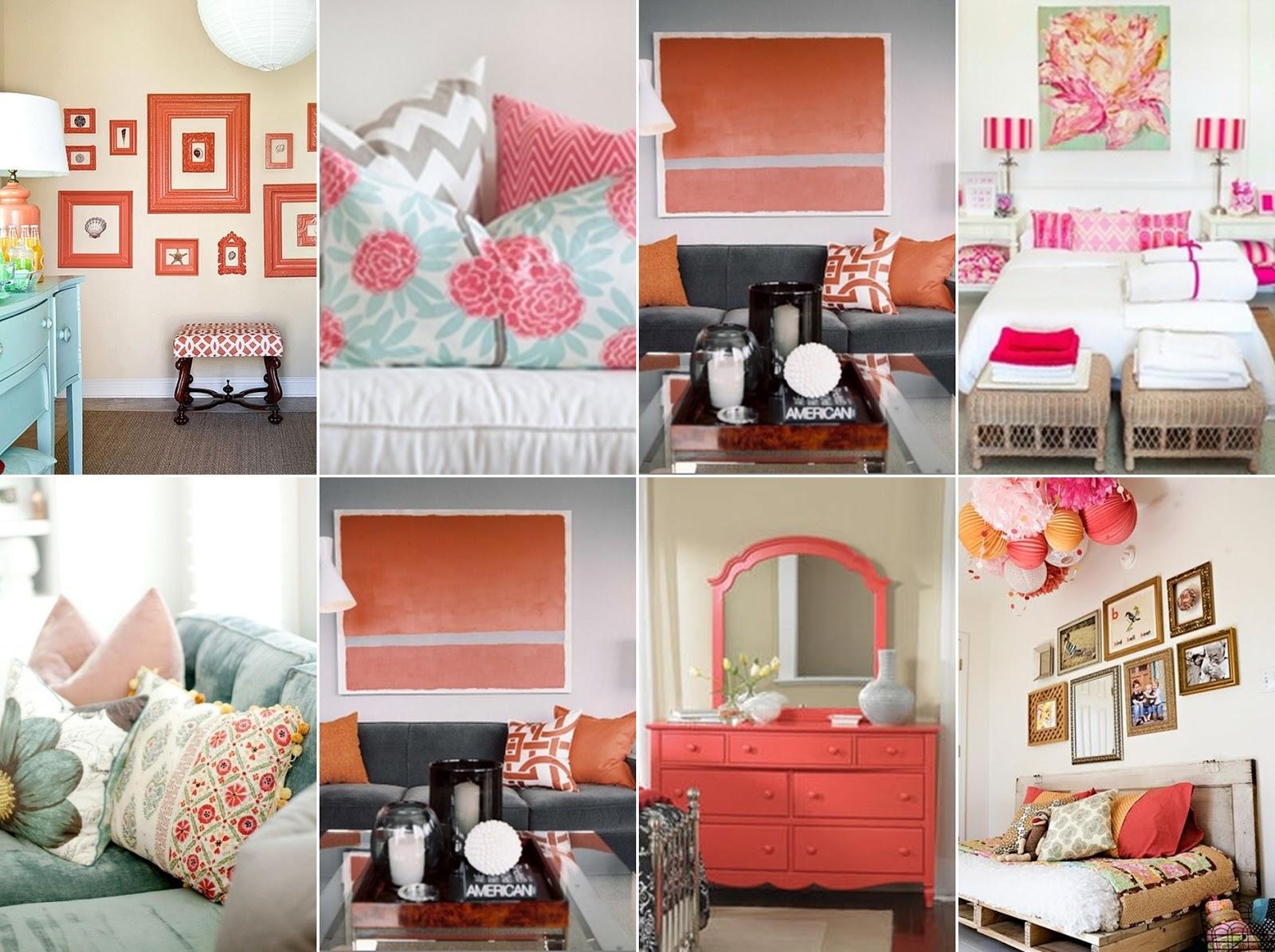 verlockendes coral koralle. Black Bedroom Furniture Sets. Home Design Ideas