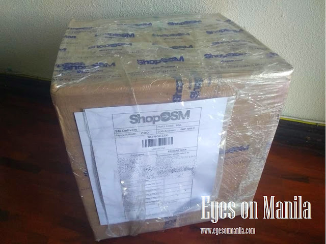 ShopSM: My package arrived