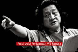 Puisi Tema Perjuangan Karya WS Rendra, Spesial HUT Kemerdekaa RI