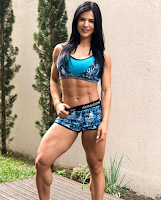 Top 5 The beautiful woman with muscles : 3 - Eva Andressa (Brazil)