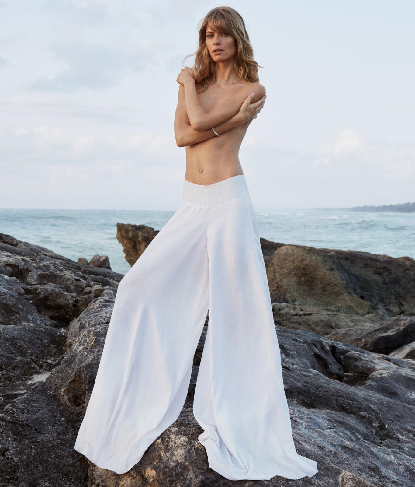 Fashion Editorial: Julia Stegner by Morgan Pilcher for Porter Magazine #21