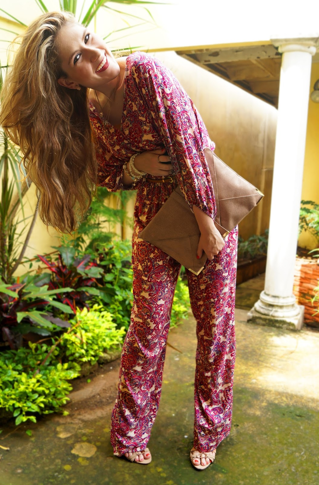 Forever21 Jumpsuit, Boho Chic