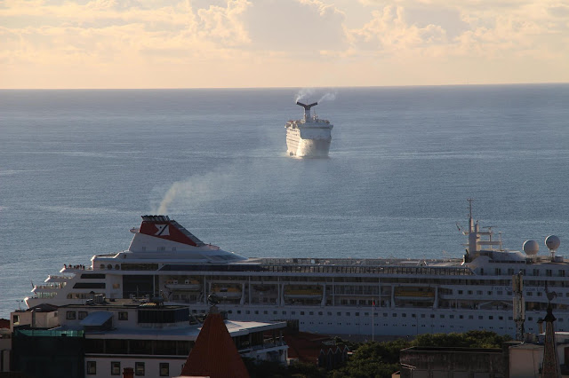 cruise ships in the best portuguese port