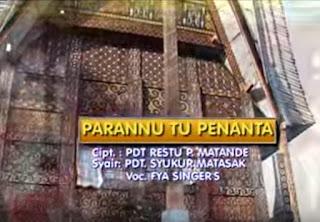 Download Lagu Toraja Parannu Tu Penanta (Fya Singer's)
